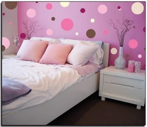 New Pink Polka Room Design e1307911495900 صور غرف نوم للاطفال حديثة ومودرن